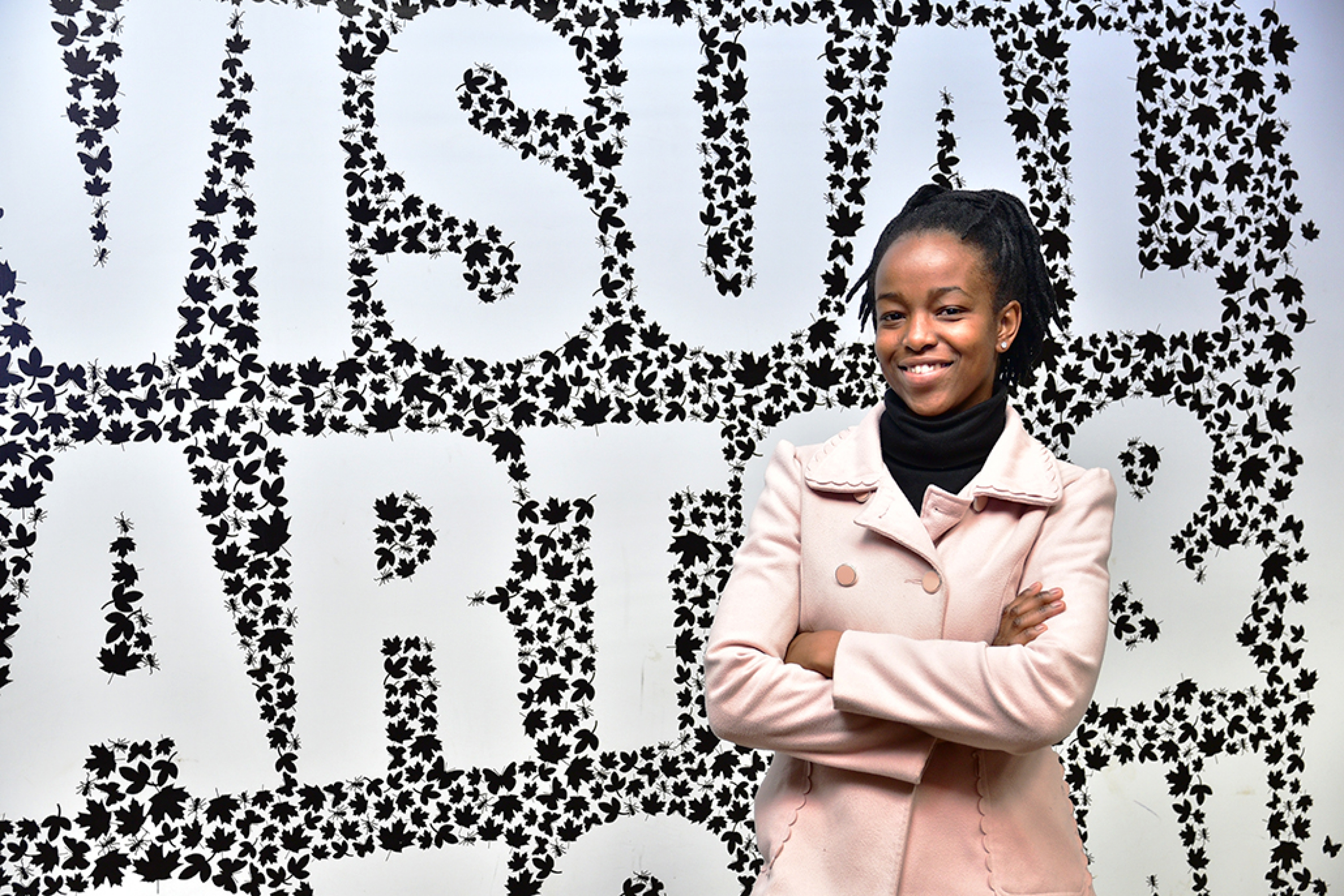 Do not wish for it, work for it' says successful VUT artist