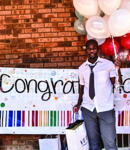Excitement and cheering as VUT delegates awards high school winner