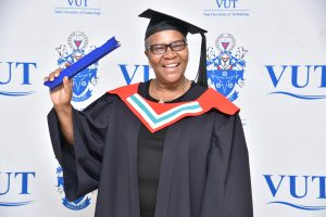 Celebrating the Vice-Chancellor's last graduation ceremony