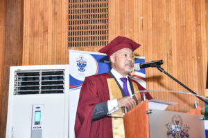 THE 2020 ACADEMIC YEAR COMMENCEMENT POINTERS FOR Professor Ihron Rensburg Monday: 10 February 2020
