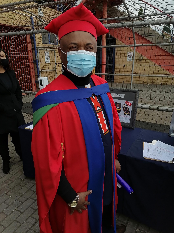 Dr Tchomeni bags a PhD