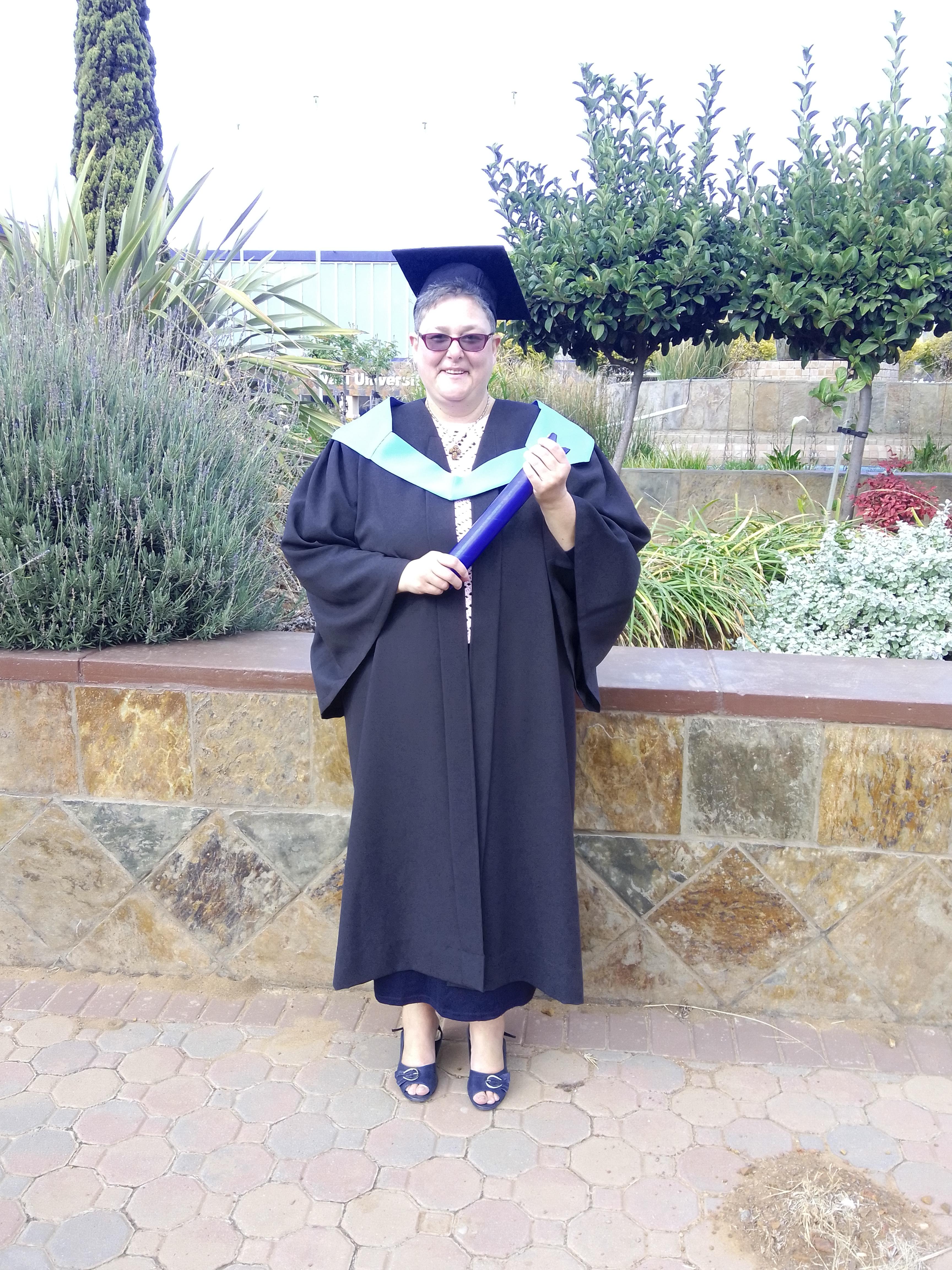 Defying the Odds: Venessa Bradbury obtains a Diploma in Logistics