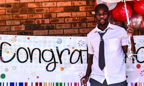 Lakeside Secondary School Grade 12 Learner; Andile Maimetsa