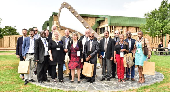 VUT's Southern Gauteng Science and Technology Park (SGSTP) hosted the Italian Summit on 20 October.