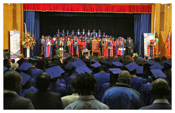 It's all systems go for VUT Autumn Graduations