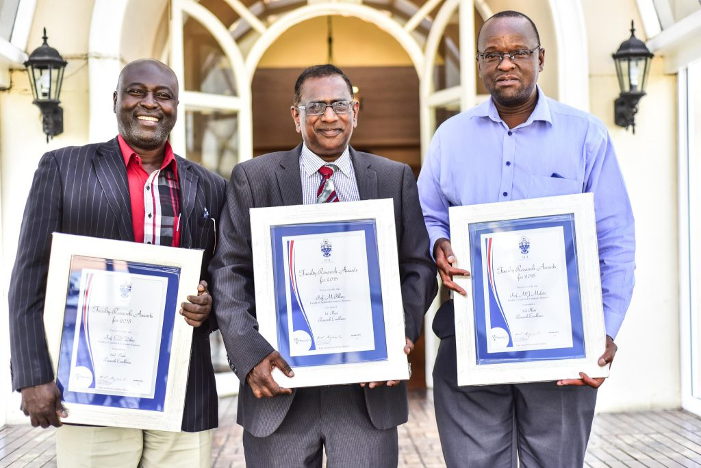 Recipients of the Research Excellence Awards