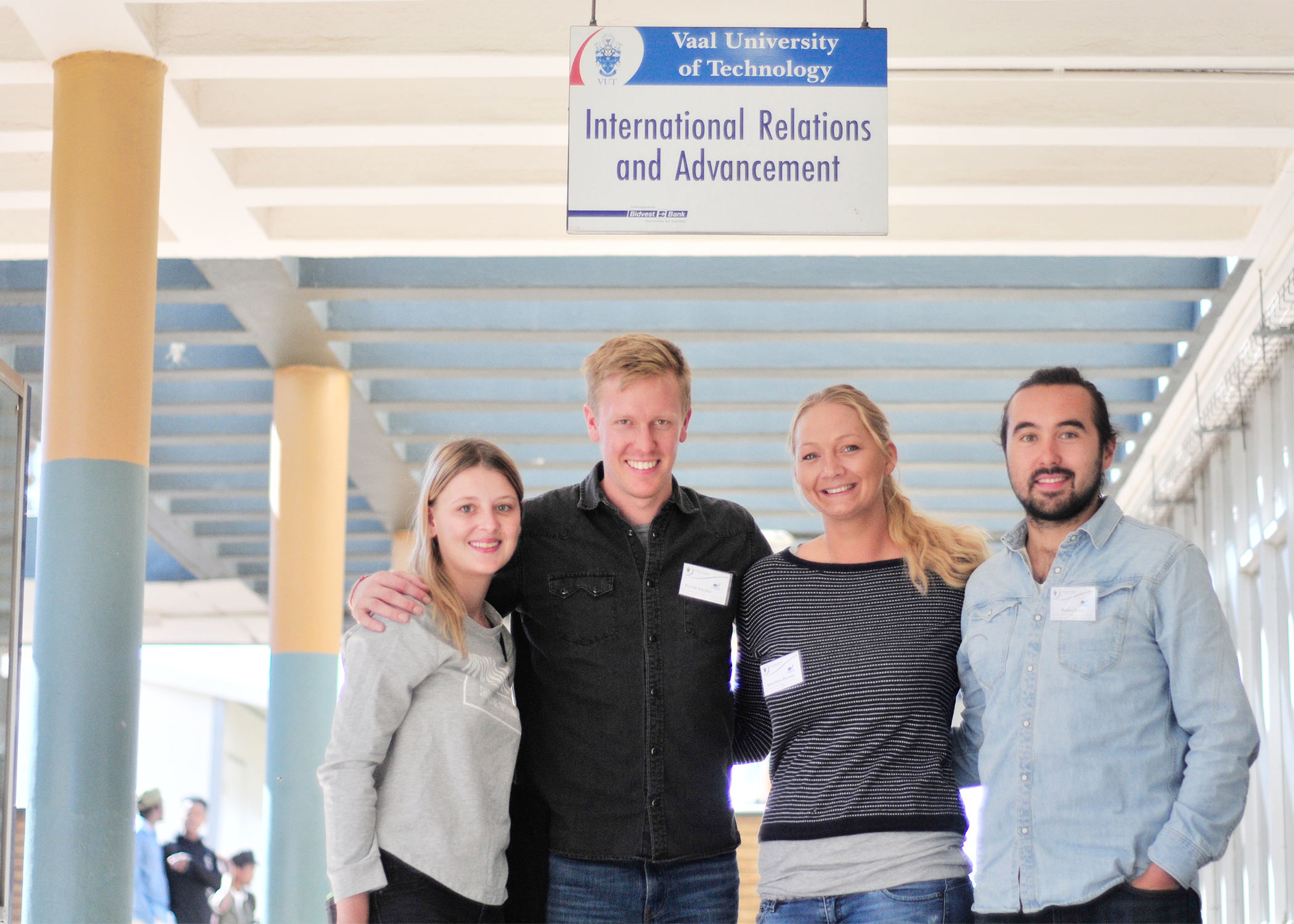 German exchange students joining us this semester – Vaal University
