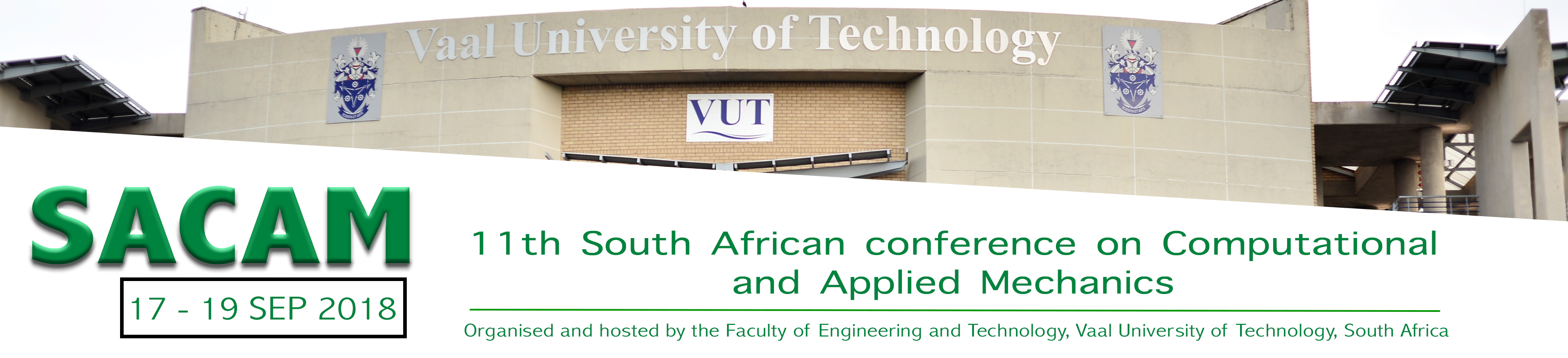 SACAM2018 – Vaal University of Technology