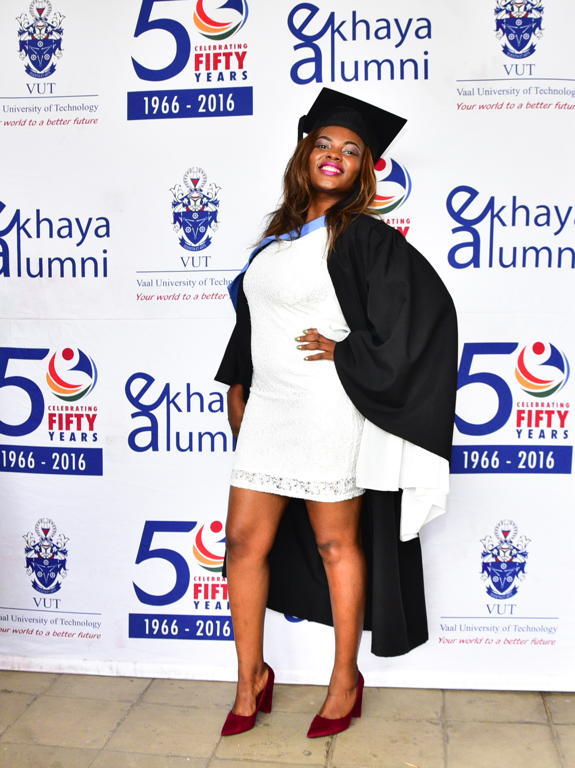 International student broke barriers & now celebrates her